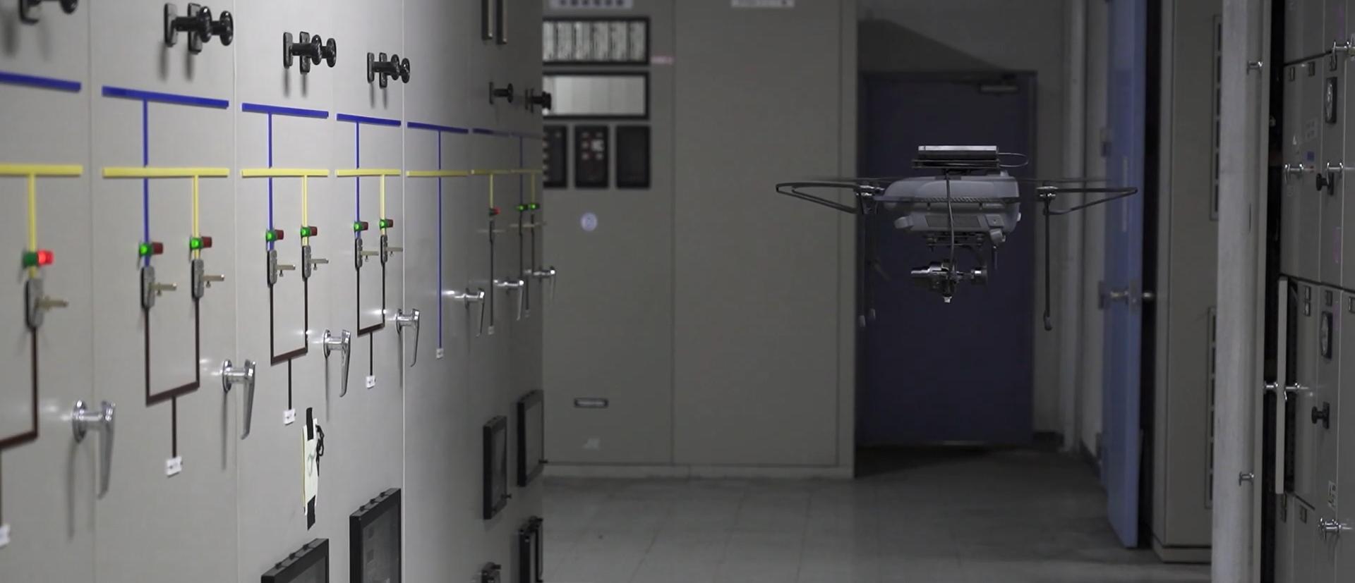 5G通信/エッジAI解析 ドローンによる自動点検ソリューション