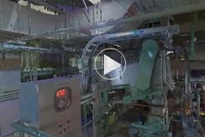 上下水道インフラの3Dモデルデータ(屋内)